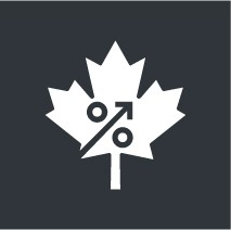 Canadian Growth of dividend graphic